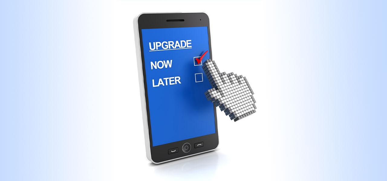 mobile phone upgrade