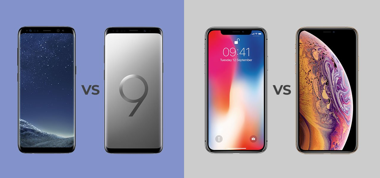 mobile phones - old vs -new