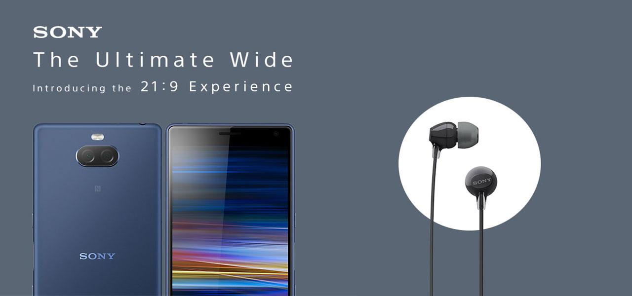 sony xperia 10 free headphones