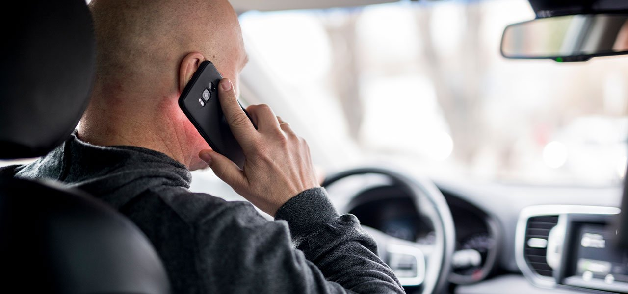 driving whilst on the phone