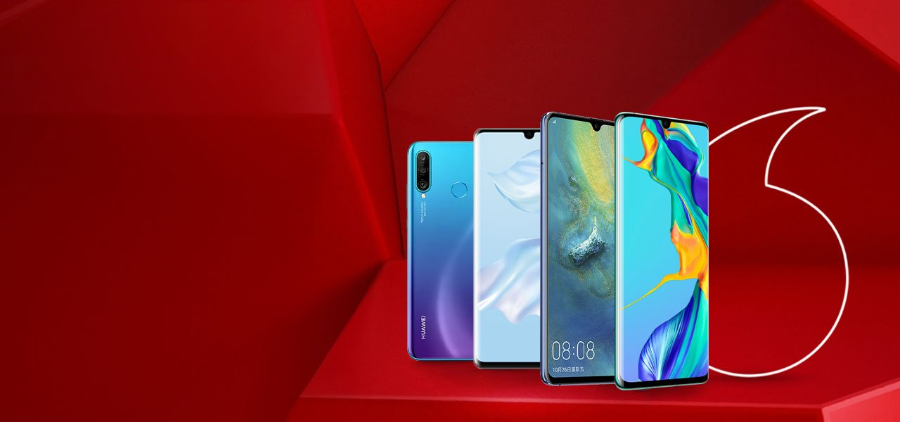 huawei deals on vodafone