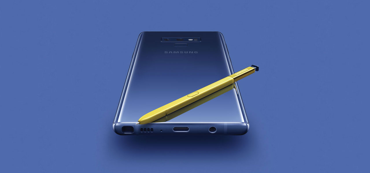 samsung galaxy note 9 dominating the market