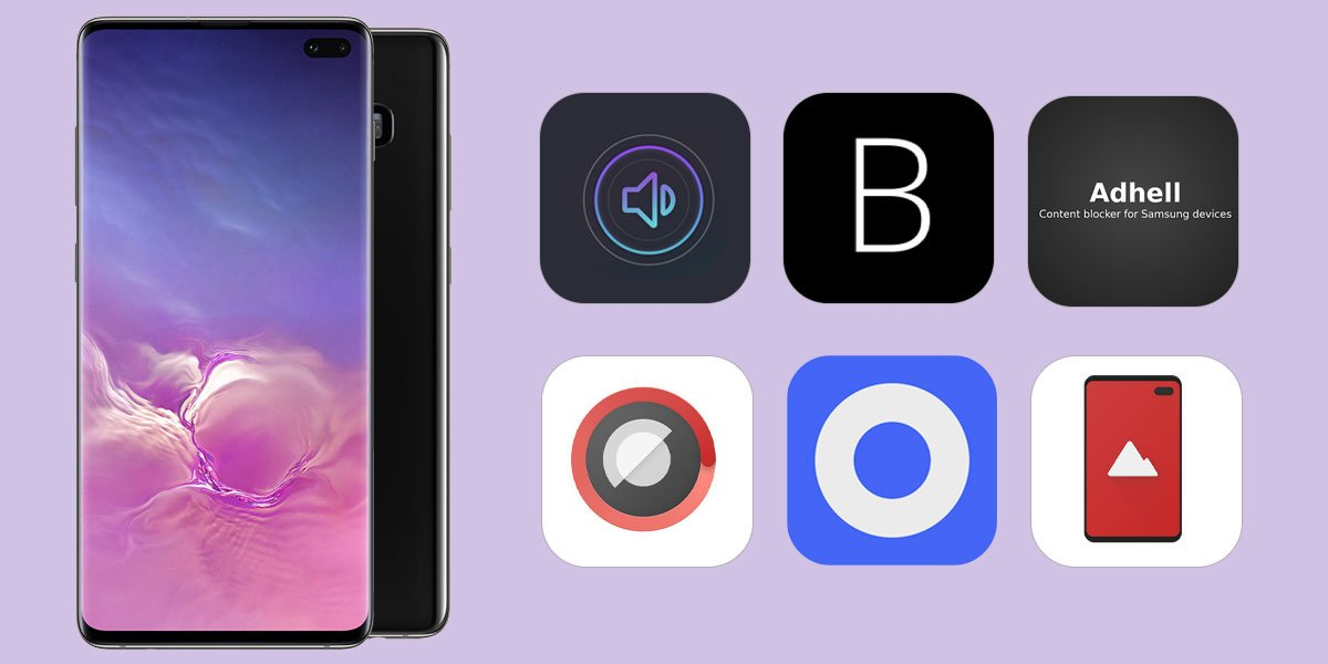 samsungh galaxy s10 plus best apps