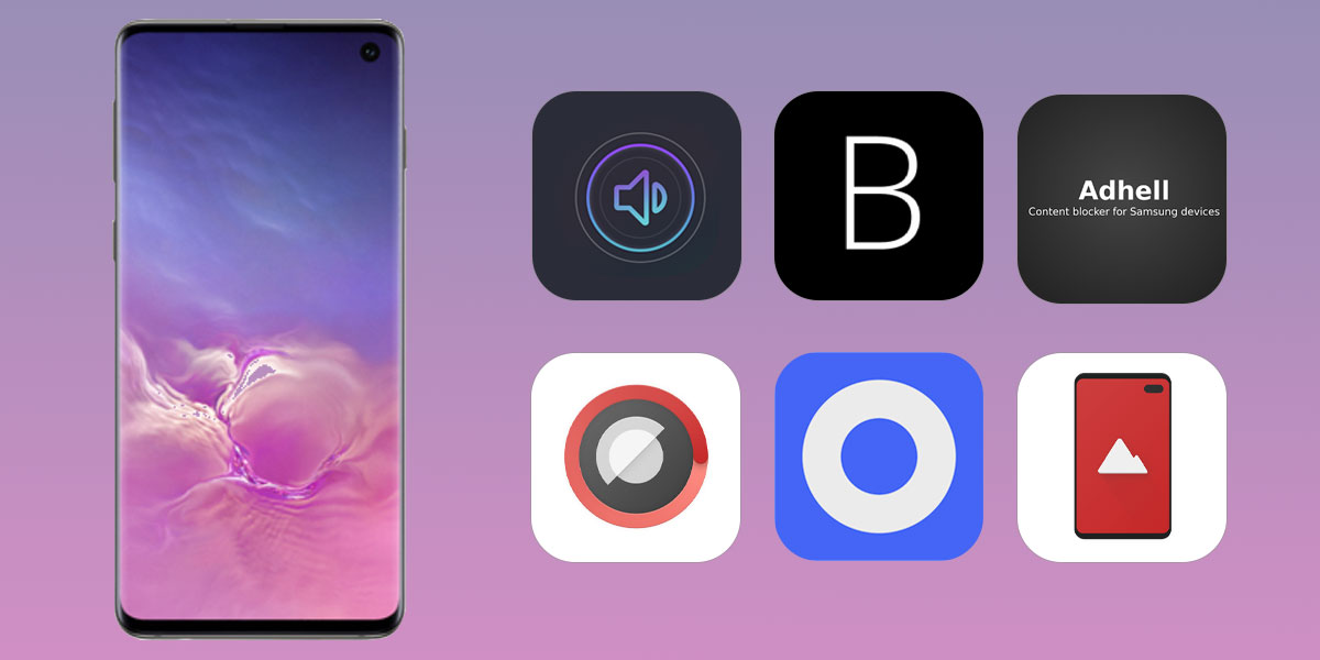 best apps for samsung galaxy s10