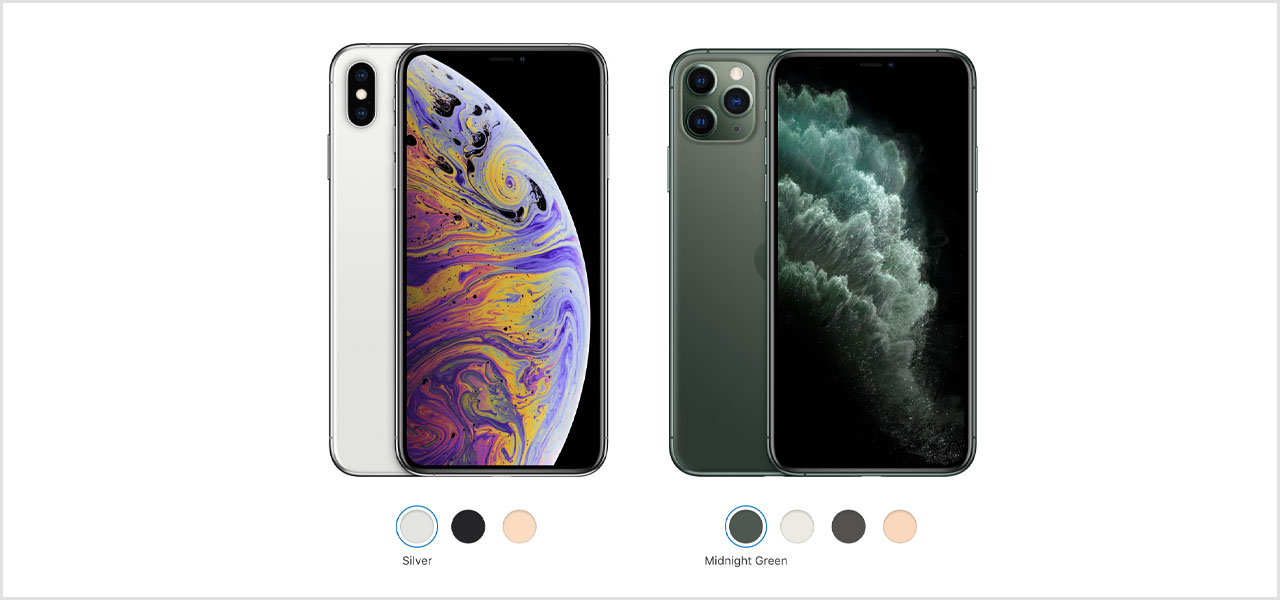 apple iphone 11 compared to iphone xs