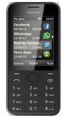 Alcatel Pixi 3 Black Front