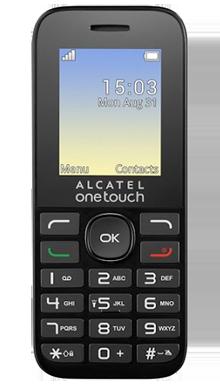 Alcatel 10.16G Black Front