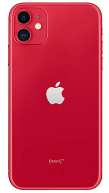 Apple iPhone 11 128GB Red Back