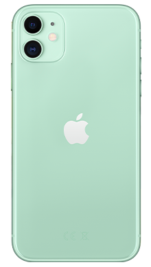 Apple iPhone 11 64GB Green Back