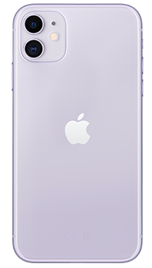 Apple iPhone 11 256GB Purple Back