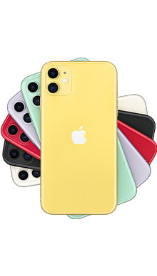 Apple iPhone 11 64GB Yellow Side