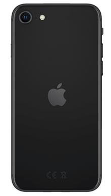 iPhone SE 128GB Black Back