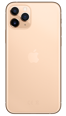 Apple iPhone 11 Pro Max 64GB Gold Back