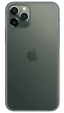 Apple iPhone 11 Pro Max 256GB Midnight Green Back
