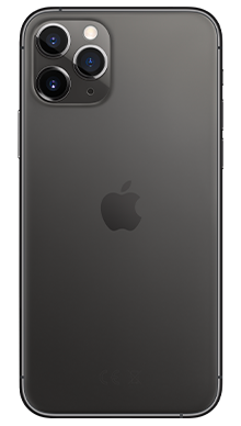 Apple iPhone 11 Pro Max 64GB Space Grey Back