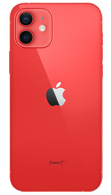 iPhone 12 5G 64GB Red Back