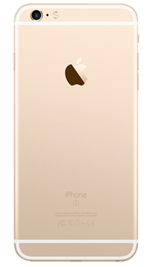 Apple iPhone 6s Plus 32GB Gold Back