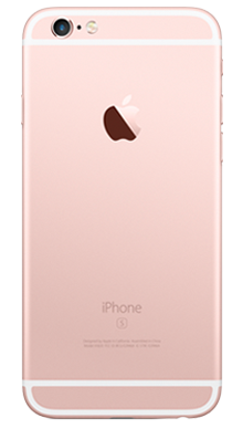 Apple iPhone 6s Plus 128GB Rose Gold Back