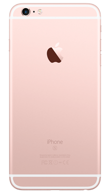 Apple iPhone 6s 32GB Rose Gold Back