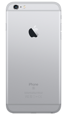 Apple iPhone 6s 128GB Space Grey Back