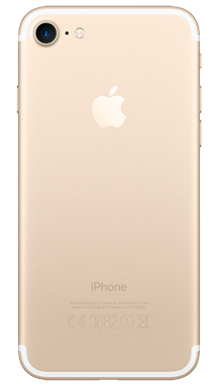 Apple iPhone 7 128GB Gold Back