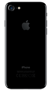 Apple iPhone 7 32GB Jet Black Back