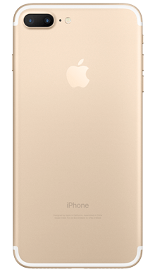Apple iPhone 7 Plus 32GB Gold Back
