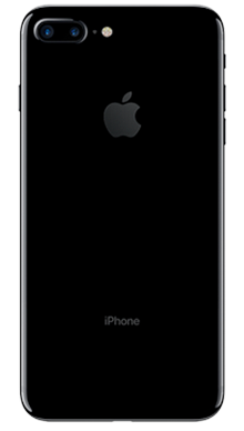 Apple iPhone 7 Plus 32GB Jet Black Back