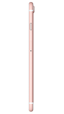 Apple iPhone 7 Plus 32GB Rose Gold Side