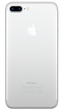 Apple iPhone 7 Plus 128GB Silver Back
