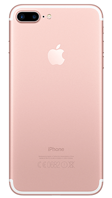 Apple iPhone 7 Plus 32GB Rose Gold Back