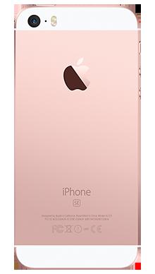 Apple iPhone SE 32GB Rose Gold Back