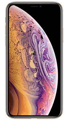 Apple iPhone Xs 256GB Gold Front