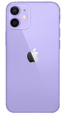 iPhone 12 5G 64GB Purple Back