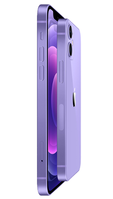 iPhone 12 5G 64GB Purple Side