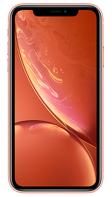 Apple iPhone Xr 64GB Coral Front