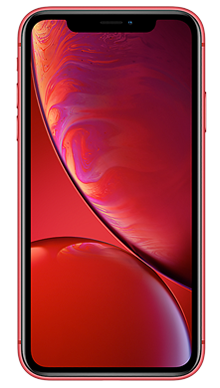 Apple iPhone Xr 128GB Red Front