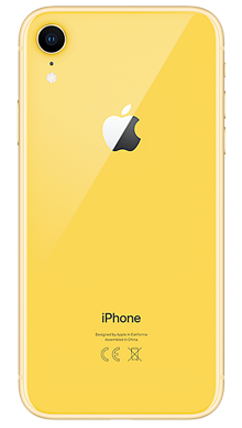 Apple iPhone Xr 128GB Yellow Back