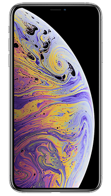 Apple iPhone Xs Max 512GB Silver Front