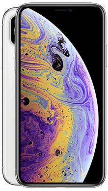 Apple iPhone Xs 64GB Silver Nearly New