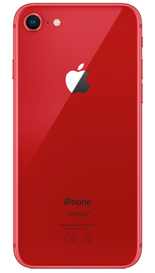 Apple iPhone 8 64GB Red Back