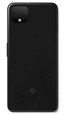 Google Pixel 4XL 64GB Just Black Back