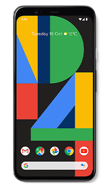 Google Pixel 4XL 64GB Just Black Front