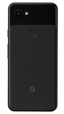 Google Pixel 3a XL 64GB Just Black Back