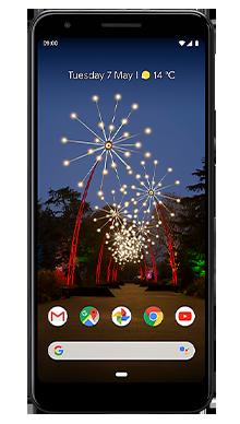 Google Pixel 3a 64GB Black Front