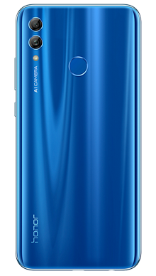 Honor 10 Lite Blue Back