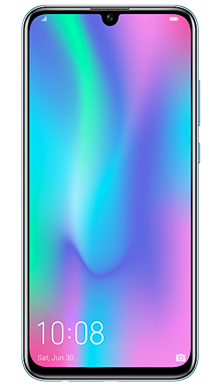 Honor 10 Lite Blue Front