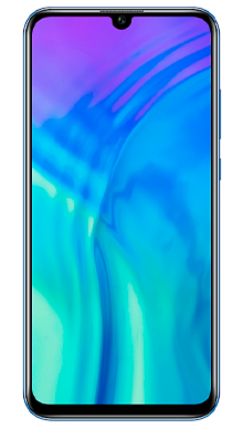 Honor 20 Lite Phantom Blue Front