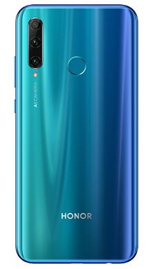 Honor 20e 64GB Phantom Blue Back