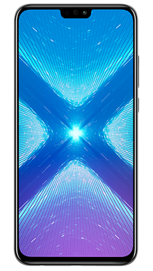 Honor 8X Black Front